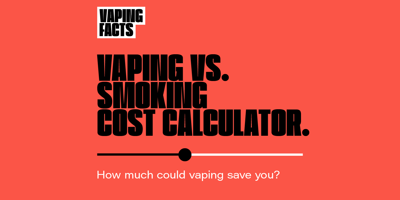 Cost Calculator | Vaping Facts